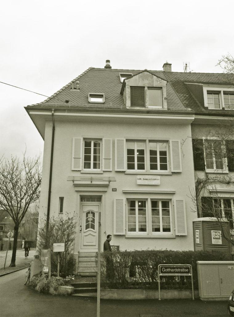 Gotthardstrasse basel rolli boss architekten - Architekten basel ...